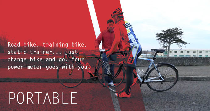 Bicycle Power Meter Handheld : World s first wearable power meter for cyclists indiegogo