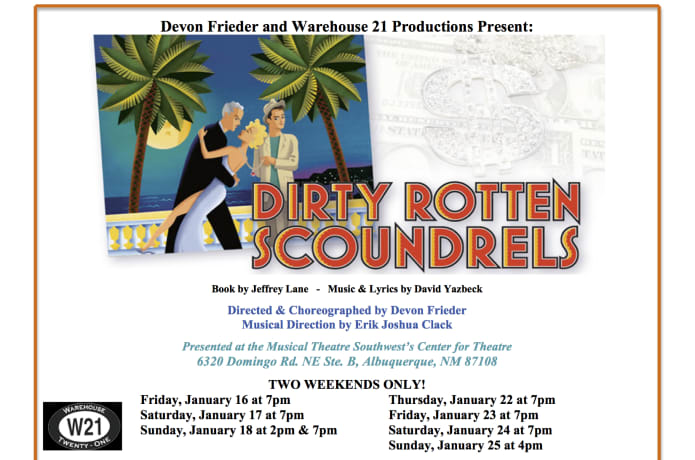 Dirty Rotten Scoundrels - DevonFrieder Productions | Indiegogo