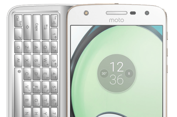 Keyboard Mod: A Physical Keyboard For The Moto Z | Indiegogo