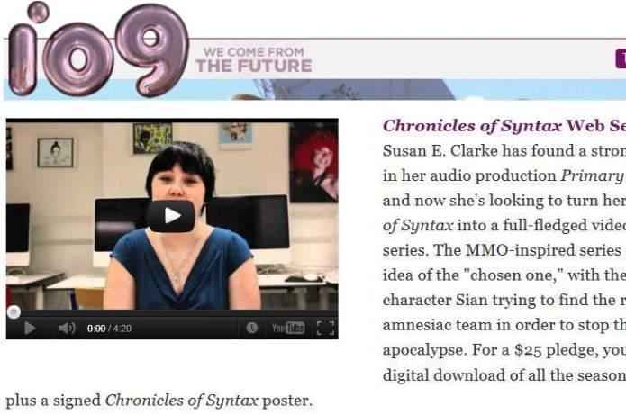 Chronicles of Syntax | Indiegogo