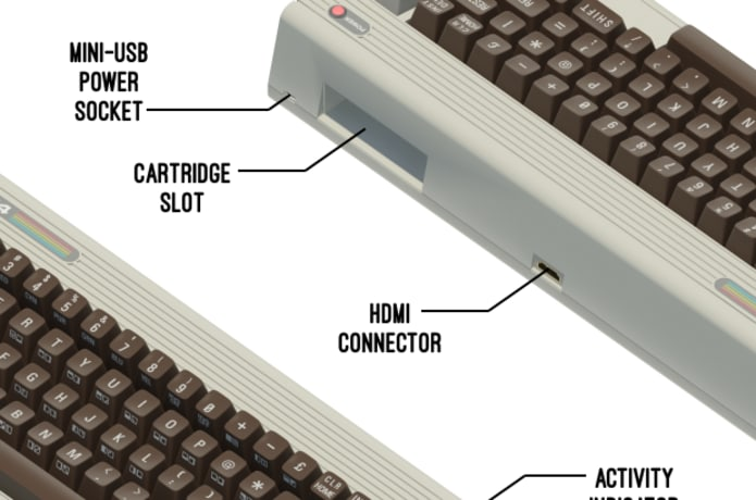 THEC64 - Computer and Games Console | Indiegogo