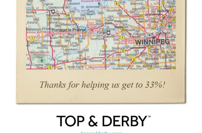 TOP & DERBY | Indiegogo