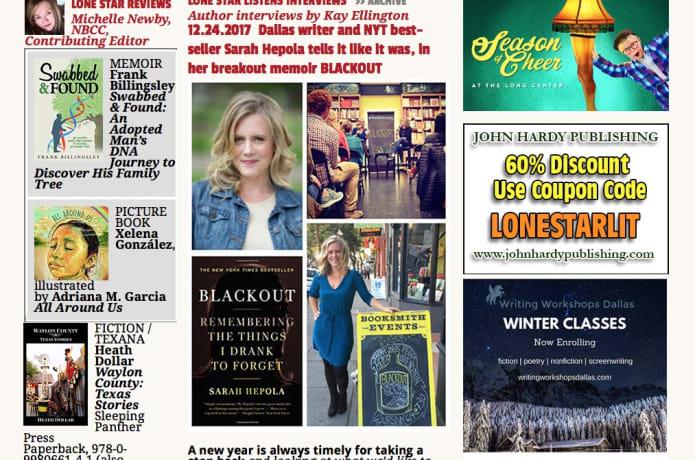 Lone Star Literary: Texas Books, Texas Readers | Indiegogo