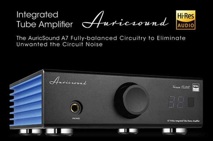 AuricSound A7 EX VACUUM TUBE and SOLID-STATE | Indiegogo