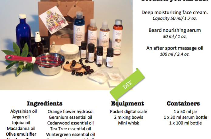 The Greenest Ingredients for DIY Cosmetic   Indiegogo