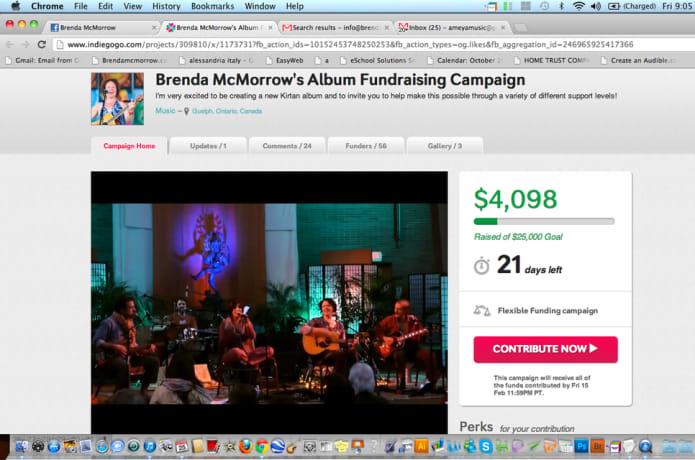 Brenda McMorrow's Album Fundraising Campaign   Indiegogo