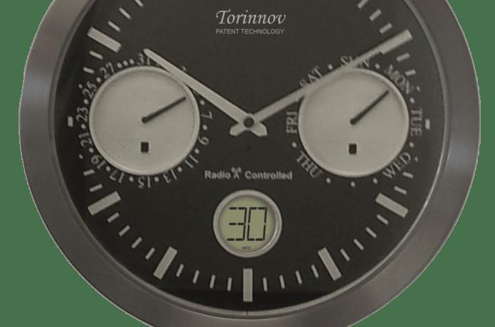 Torinnov Automatic Analogue and Digital Perpetual Calendar