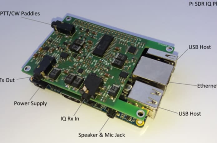 Pi SDR IQ Plus for radio amateurs | Indiegogo