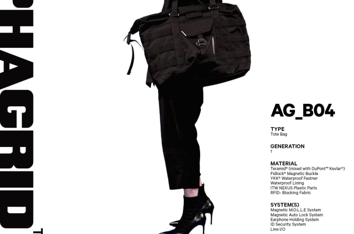 ALPHAGRID: The Ultimate Technical Bag | Indiegogo