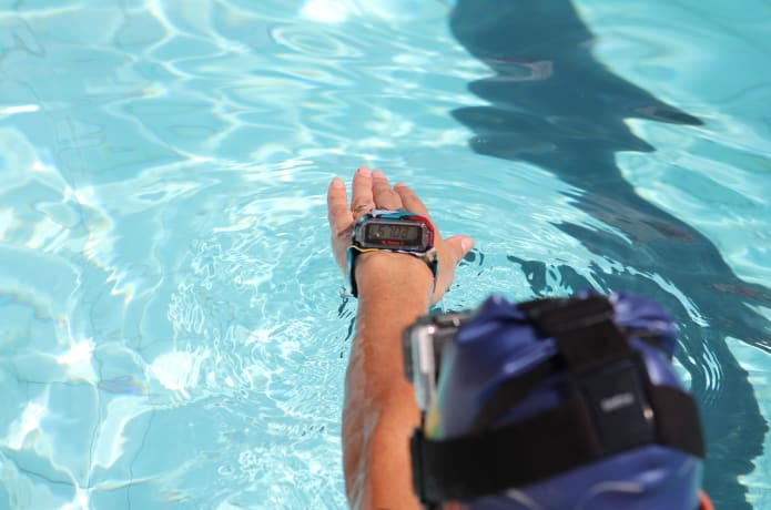 AQUA 100 - Your Personal Swimming Coach | Indiegogo