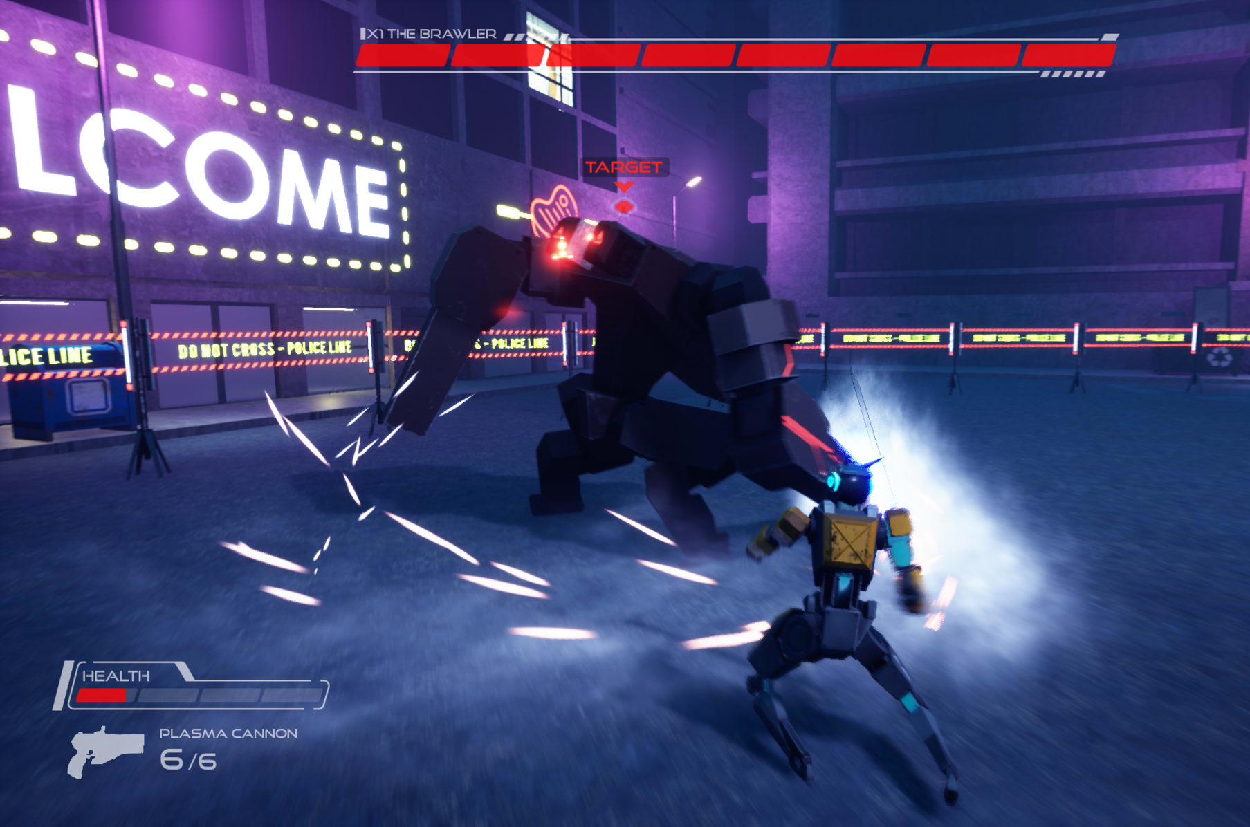 Proto-G, A Futuristic Robot Hack and Slash PC Game | Indiegogo