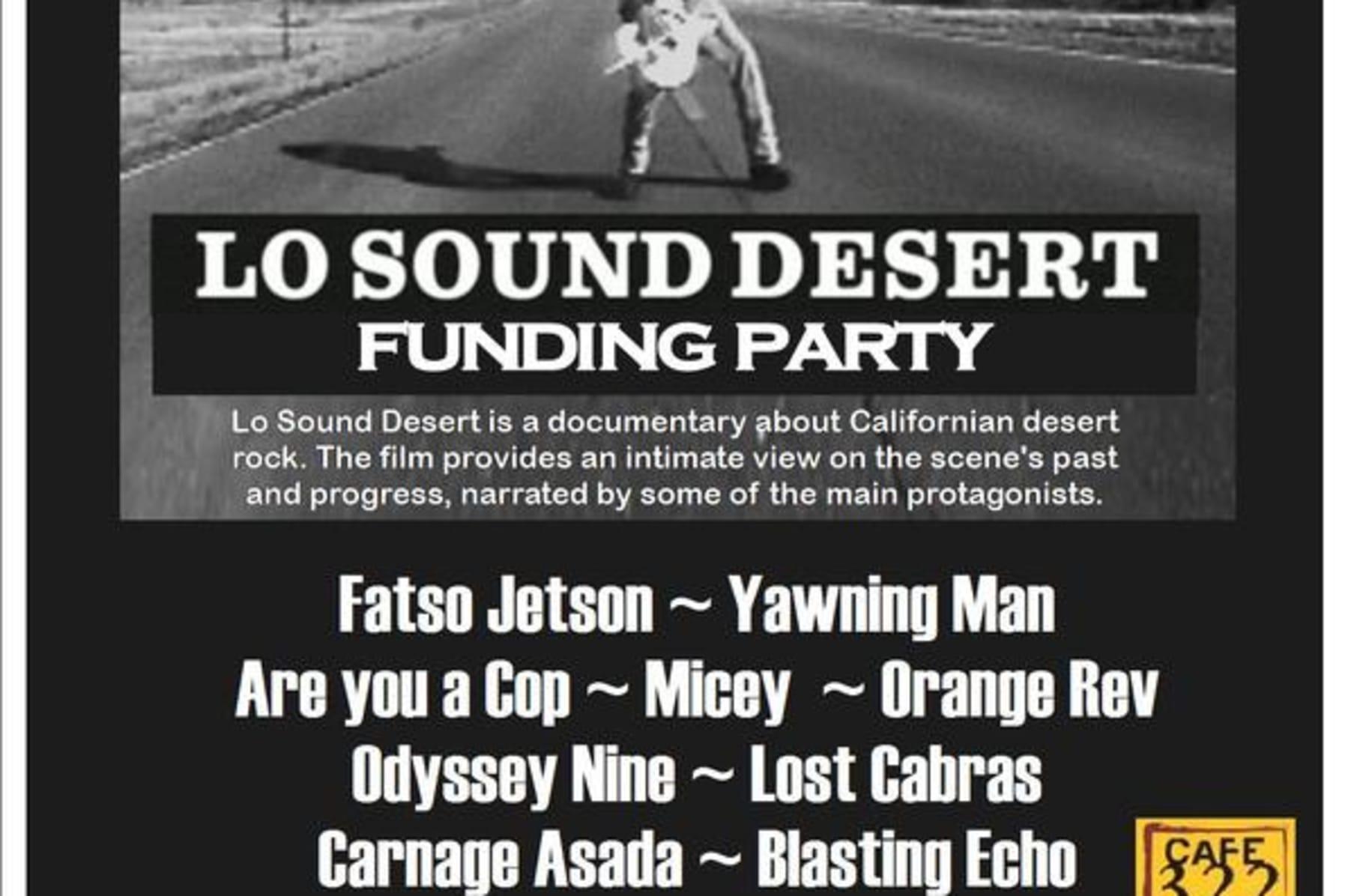 Lo Sound Desert Indiegogo