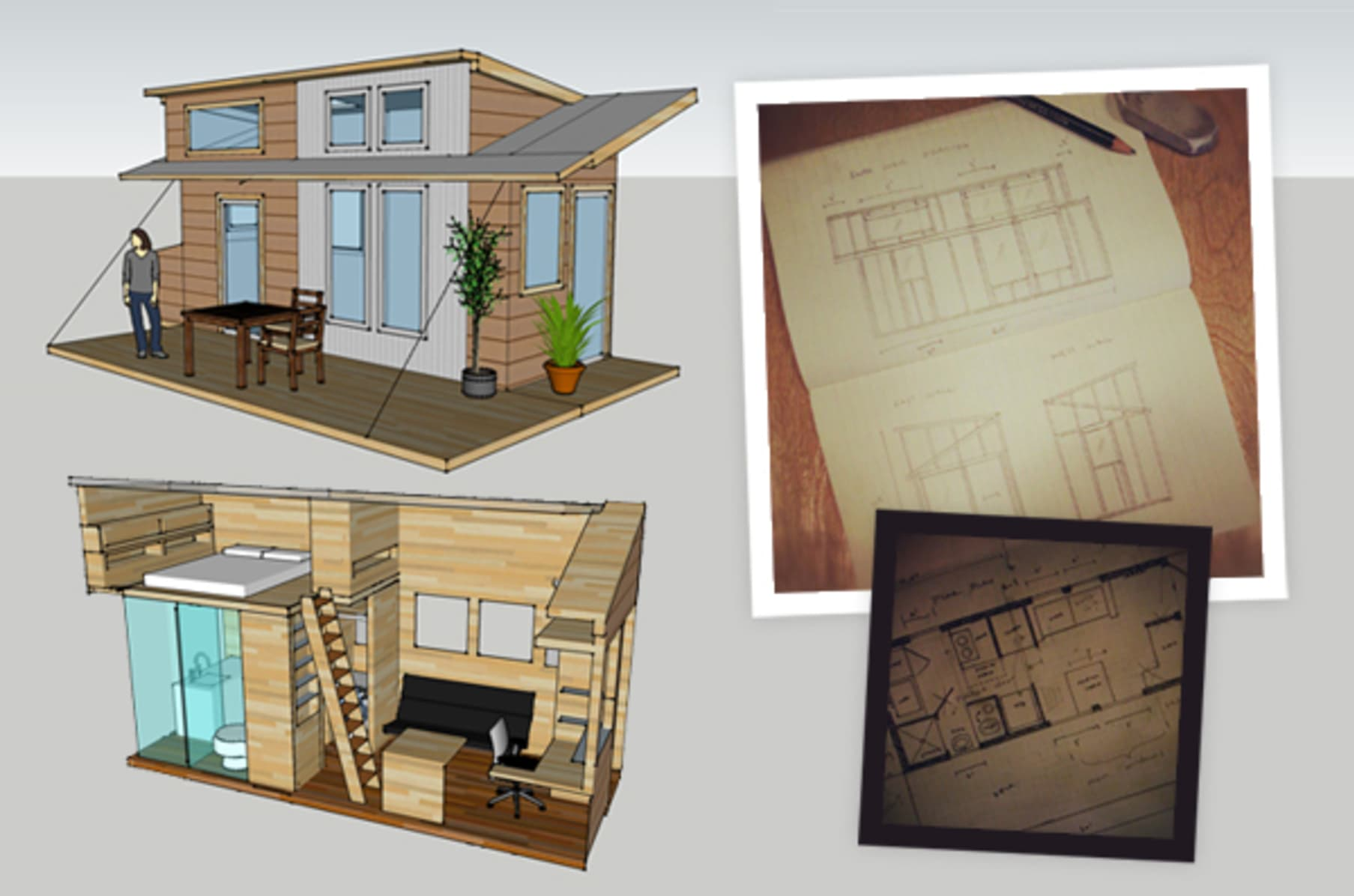 Alek Lisefski Tiny House the tiny project -- tiny house build -- community education
