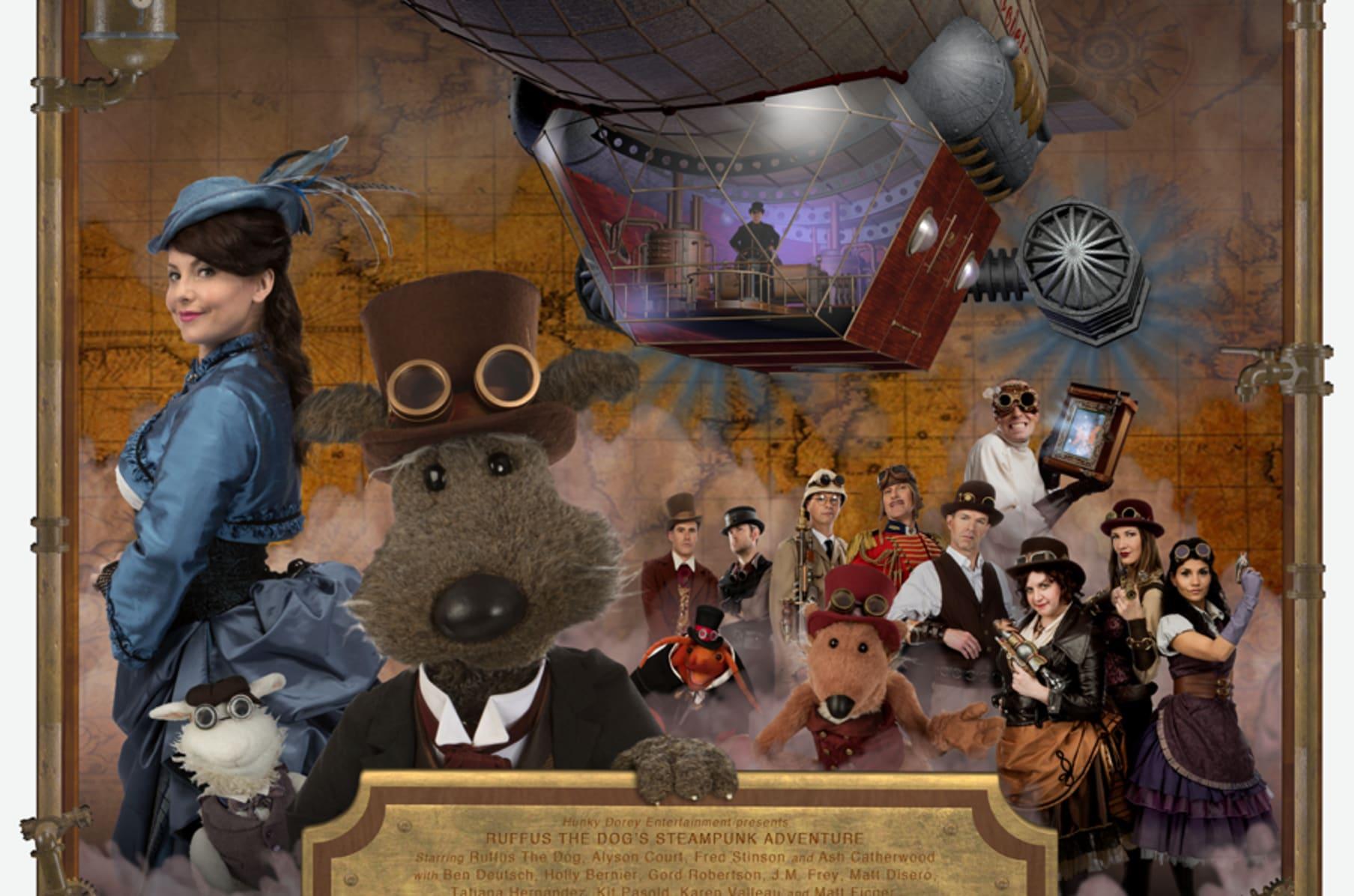 Alyson Ray Video ruffus steampunk adventure | indiegogo