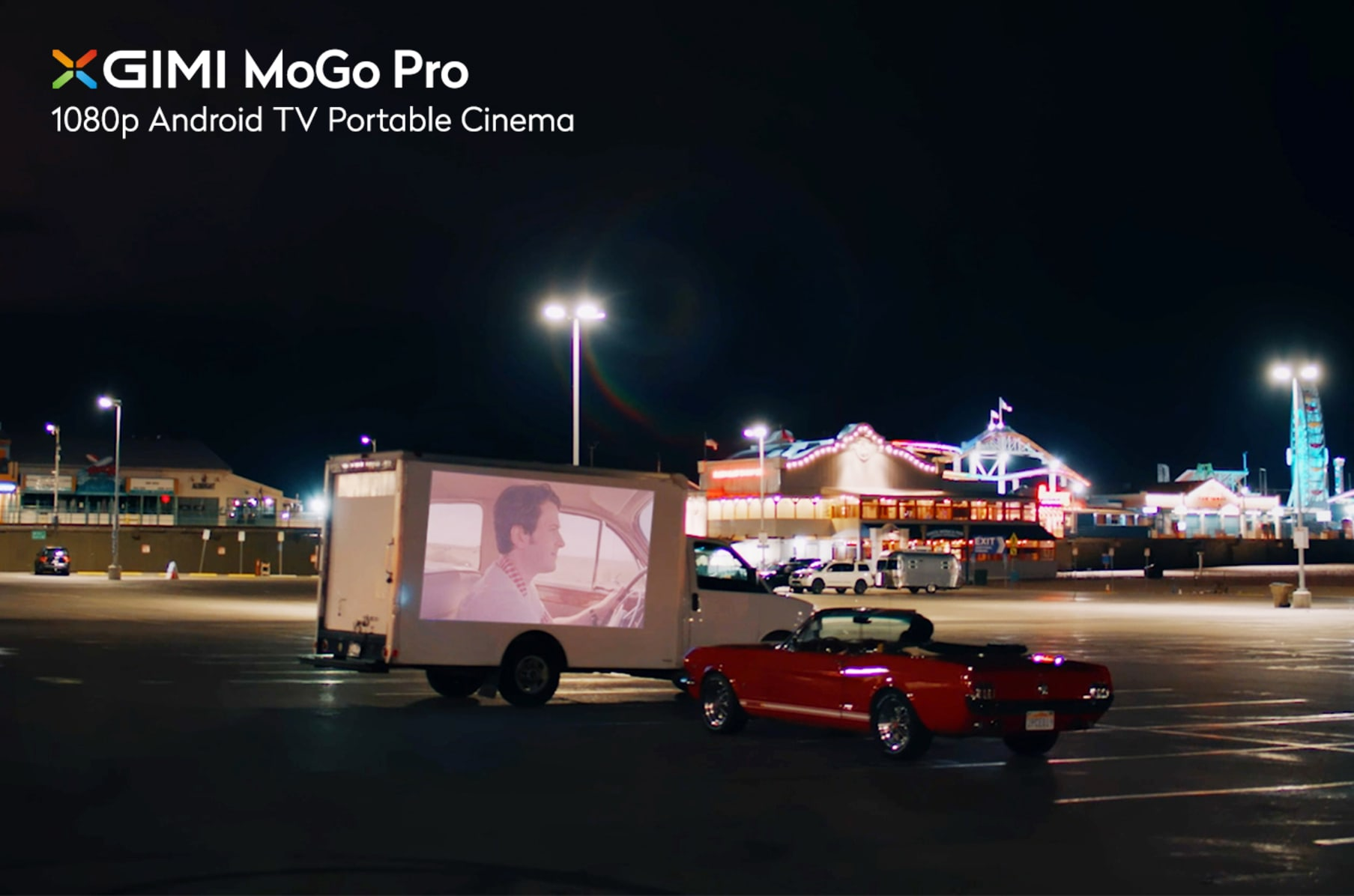 XGIMI MoGo Pro:1080P Android TV Portable Projector | Indiegogo