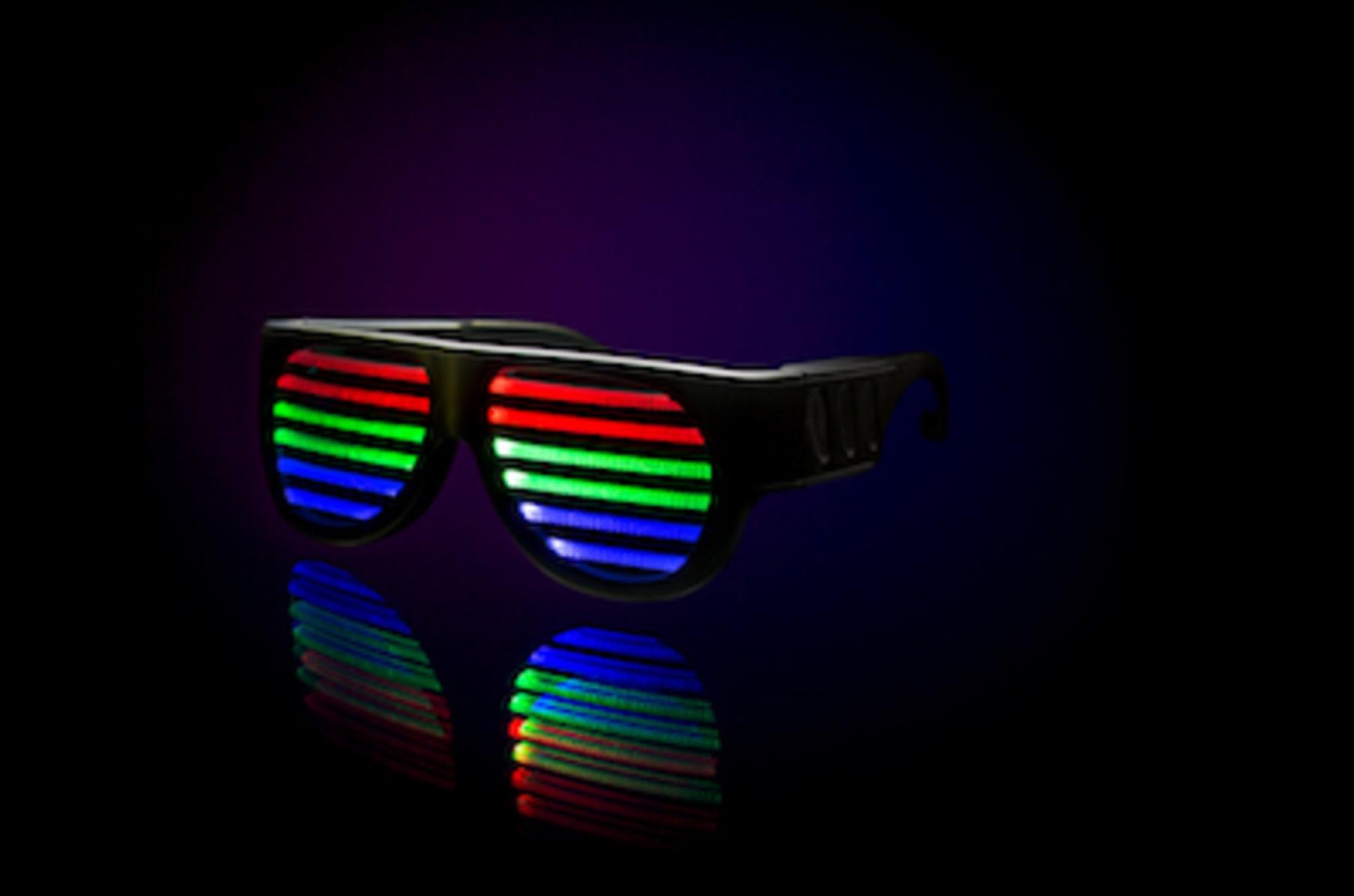 DropShades Audio-Responsive LED Glasses