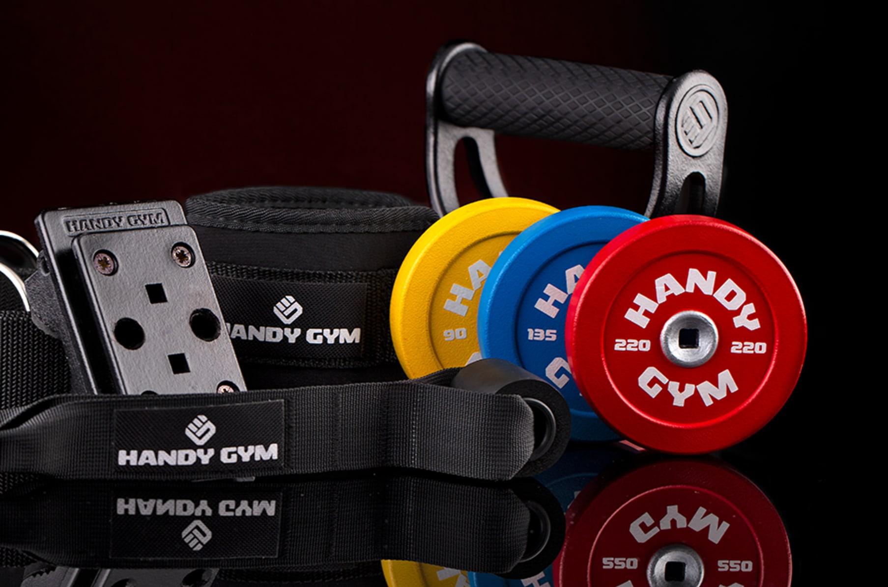 Handy Gym: Portable & Effective Inertial Training | Indiegogo