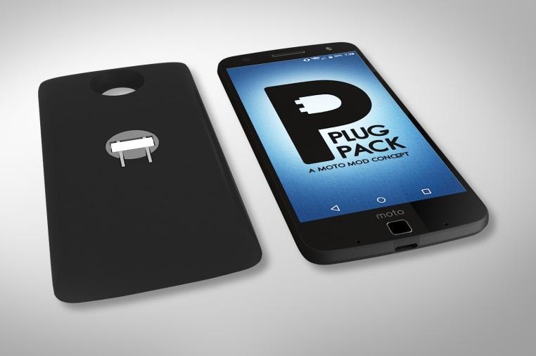 PLUG PACK, a Moto Mod concept for the Motorola Z   Indiegogo