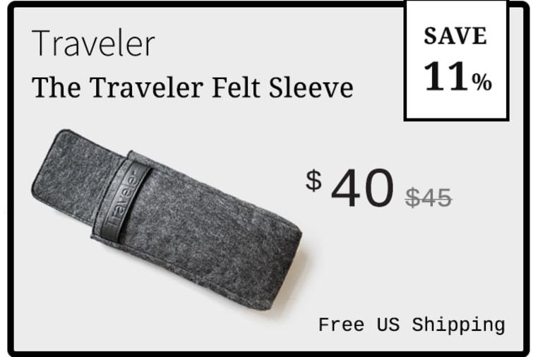 Traveler: Ultimate Distraction-Free Writing Tool | Indiegogo
