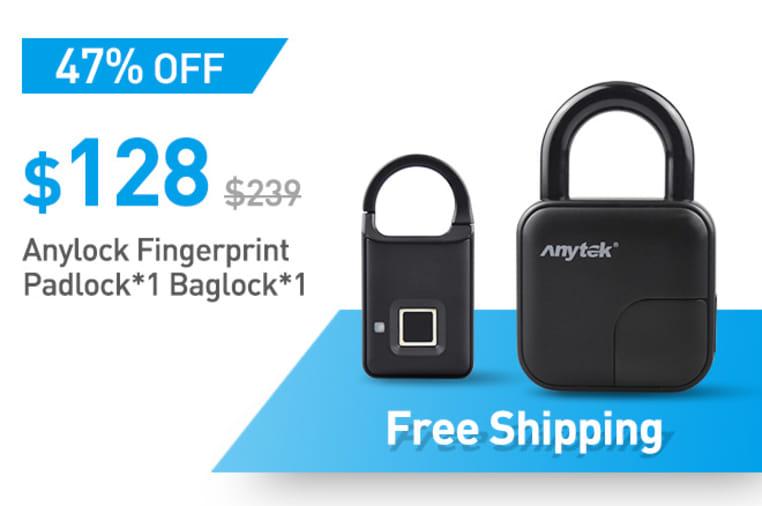 Anylock Fingerprint Padlock:Safe And Fast! | Indiegogo