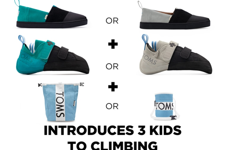 f550cd2a56c TOMS and So iLL - Shoes To Get Kids Climbing | Indiegogo